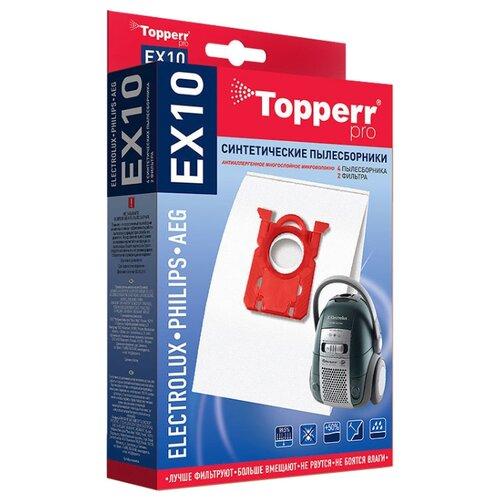 Topperr Синтетические пылесборники EX10 4 шт. недорого