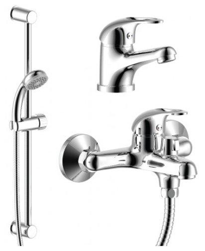 Душевой набор (гарнитур) Rossinka Silvermix SET35-80