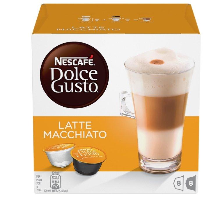 Кофе в капсулах Nescafe Dolce Gusto Latte Macchiato (16 шт.)