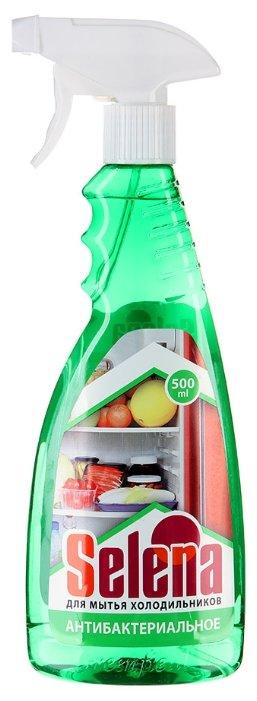 Жидкость Selena для мытья холодильников антибактериальное с распылителем 500 мл
