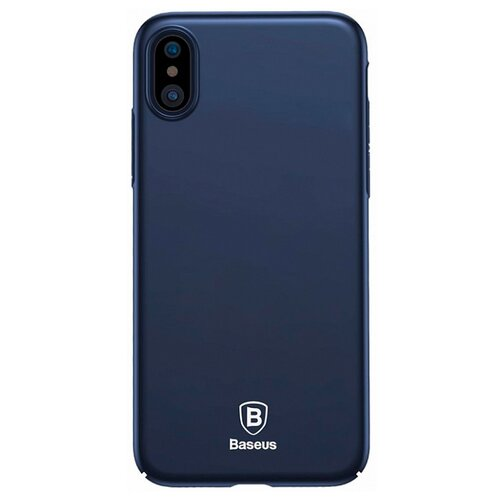 Купить Чехол Baseus Thin Case для Apple iPhone X dark blue