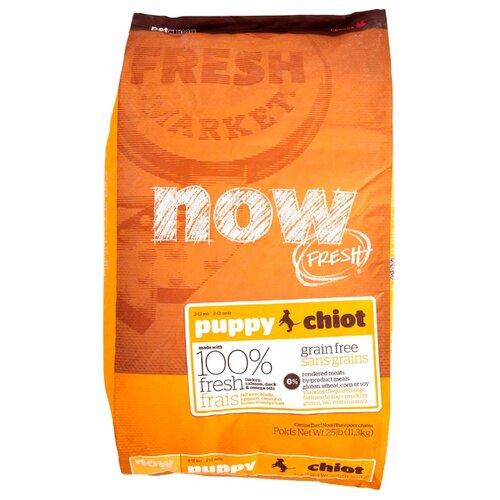 Корм для собак NOW FRESH (11.3 кг) Grain Free Puppy Dog Food RecipeКорма для собак<br>
