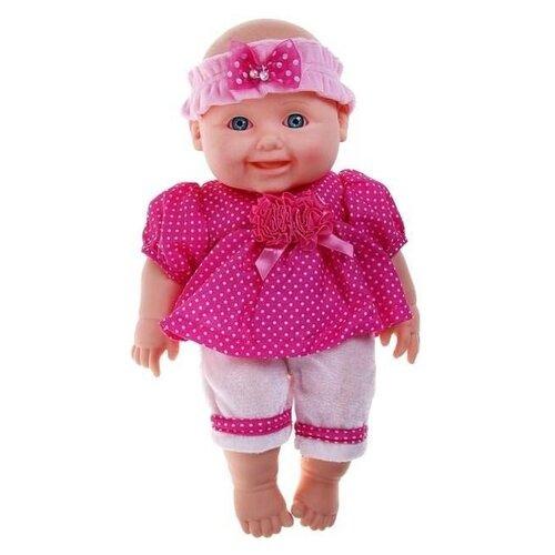 Кукла Весна Малышка 8 (девочка), 30 см, В2190 весна кукла маргарита 8 со звуком 40 см весна
