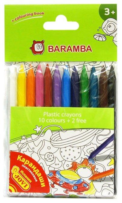 BARAMBA Цветные карандаши 12 цветов (B96210)