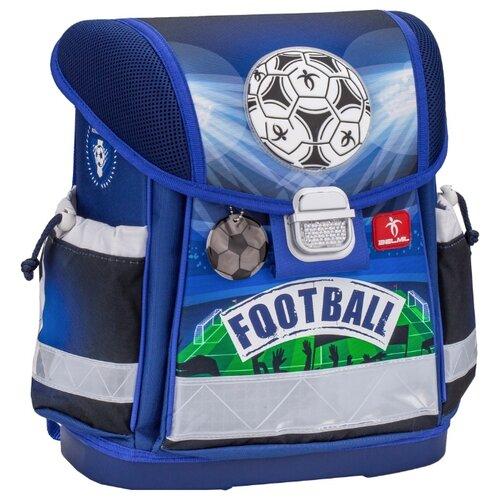 Купить Belmil Ранец Classy Royal Football (403-13/530), синий, Рюкзаки, ранцы