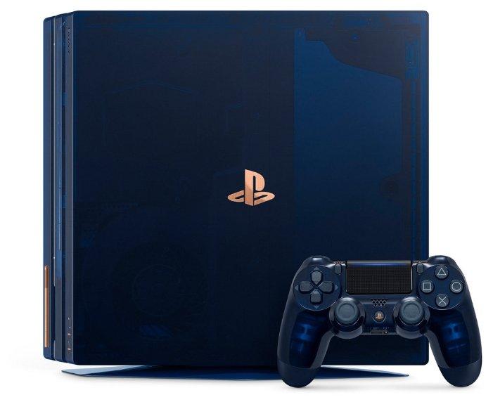 Игровая приставка Sony PlayStation 4 Pro 2 ТБ 500 Million Limited Edition