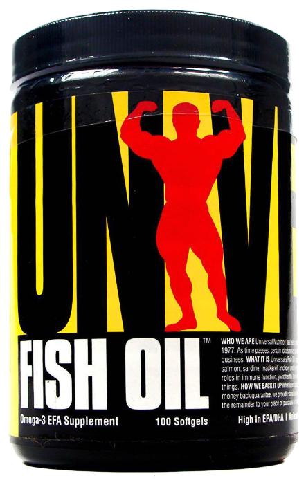 Рыбий жир Universal Nutrition Fish Oil (100 капсул)