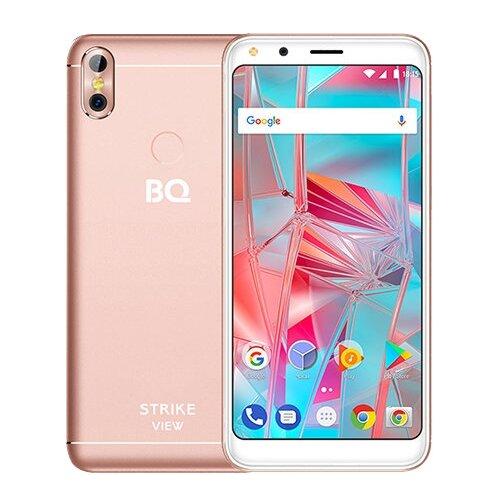 Смартфон BQ 5301 Strike View розовый смартфон bq bq 4072 strike mini blue
