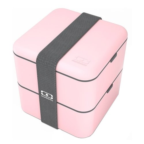 Monbento Ланч-бокс Square розовый