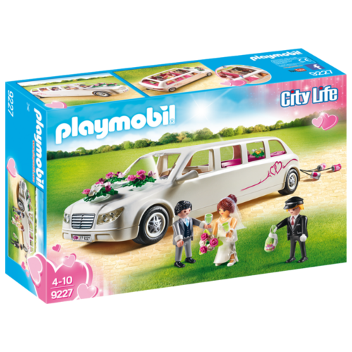 Набор с элементами конструктора Playmobil City Life 9227 Свадебный лимузин набор с элементами конструктора playmobil city life 9078 шопинг торговый центр