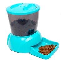 Feedex Автокормушка на 2 кг корма для кошек и мелких пород собак желтая PF7Y