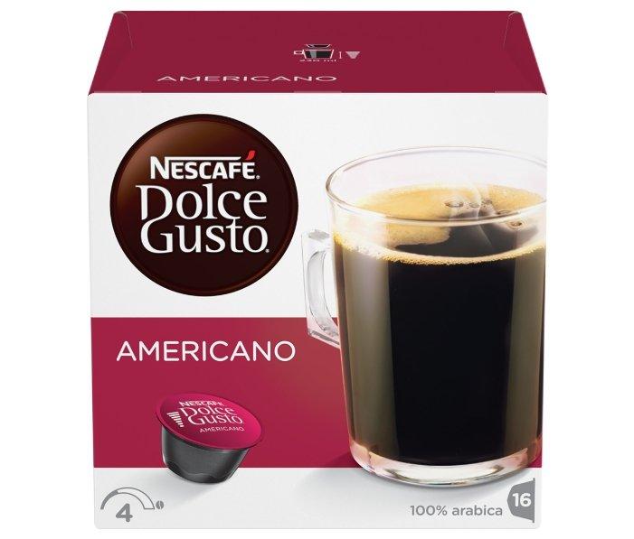 Кофе в капсулах Nescafe Dolce Gusto Americano (16 капс.)