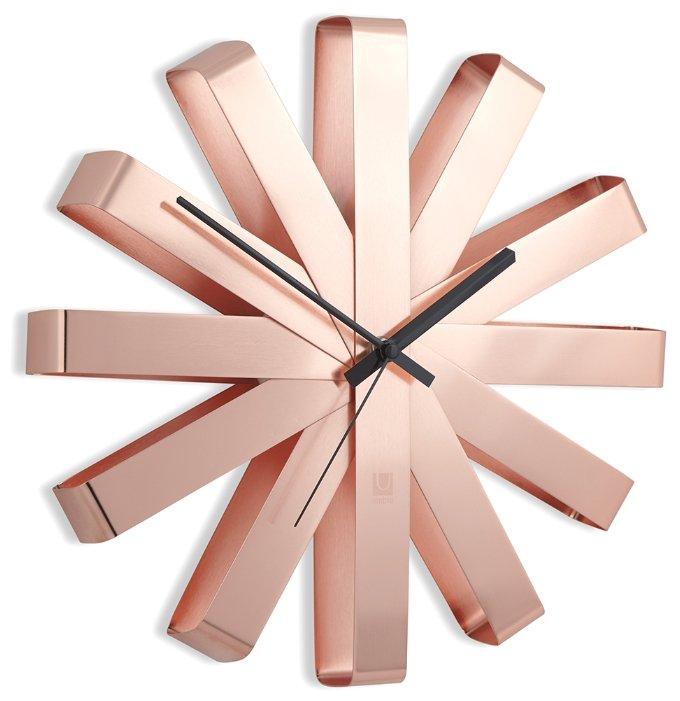 Часы настенные кварцевые Umbra RIBBON