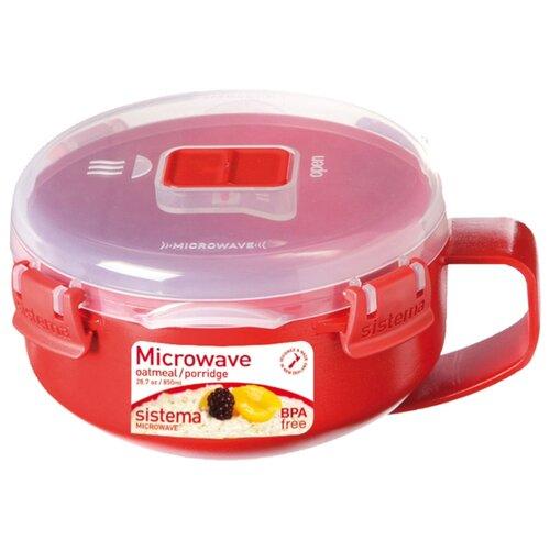 Sistema Чаша для завтрака Microwave 1112 красный