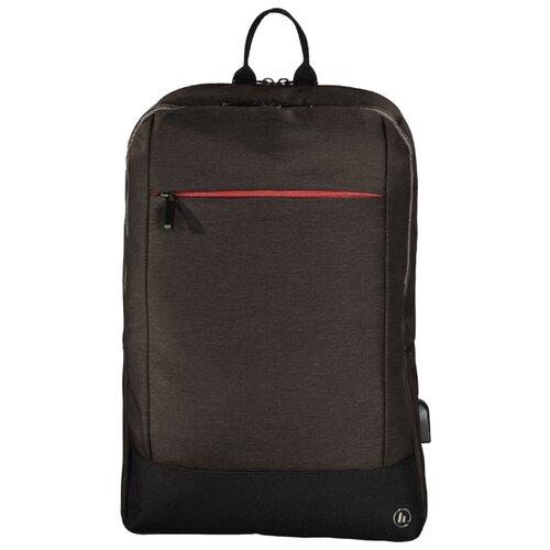 Рюкзак HAMA Manchester Notebook Backpack 15.6 brown цена 2017