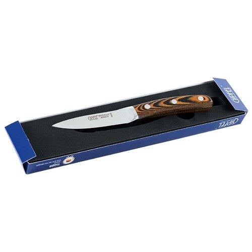 GIPFEL Нож для чистки Tiger 9 см серебристый/коричневый
