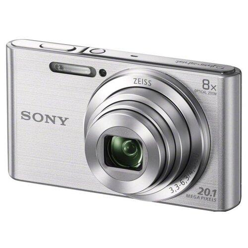 Купить Фотоаппарат Sony Cyber-shot DSC-W830 серебристый