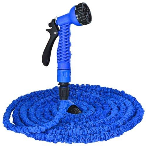 Комплект для полива XHOSE Magic Hose 22.5 метра (с распылителем) синийШланги и комплекты для полива<br>