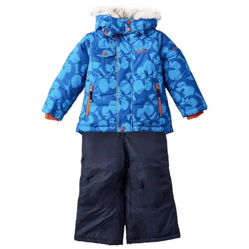 Комплект с полукомбинезоном GUSTI Boutique GWB 5405 размер 4/104, imperial blue цена 2017