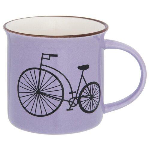 Elan gallery Кружка Велосипед 130016 mug elan gallery royal 300 ml