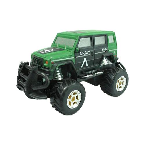 Монстр-трак Yako Safari драйв (M6492) 1:43 16 см зеленый недорого