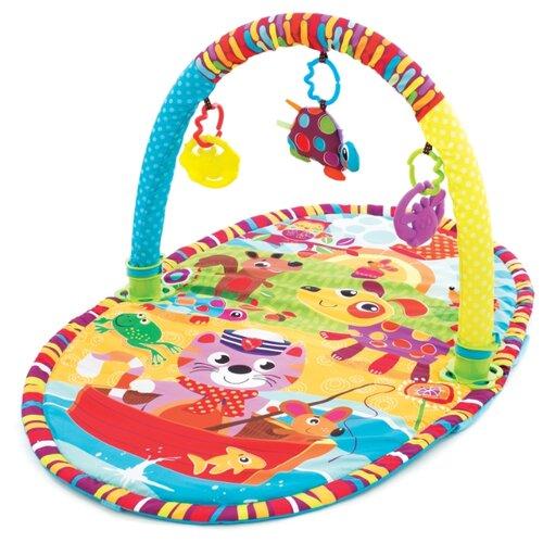 Развивающий коврик Playgro Прогулка (0184213), Развивающие коврики  - купить со скидкой