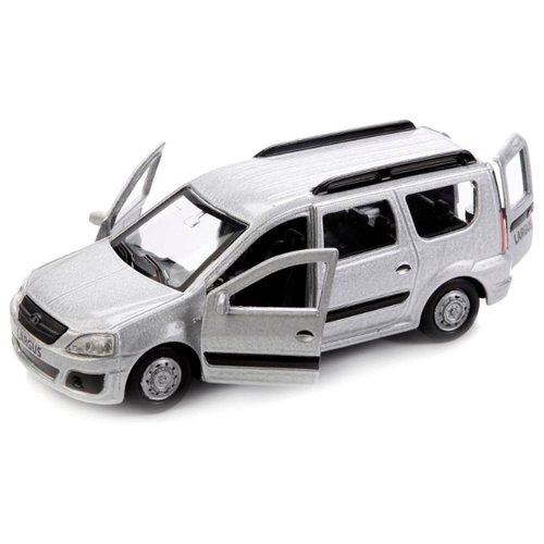 Купить Легковой автомобиль ТЕХНОПАРК Lada Largus (SB-16-47-N-WB) 12 см серебристый, Машинки и техника