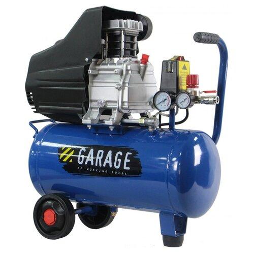 цена на Компрессор масляный Garage PK 40.F250/1.5, 40 л, 1.5 кВт