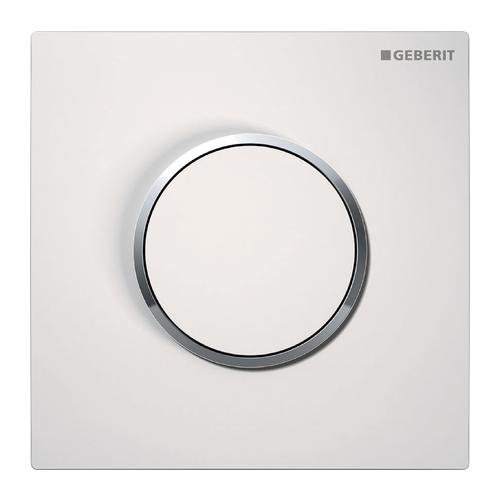 Кнопка смыва GEBERIT 116.015.KJ.1 Sigma 10 белый/хром клавиша смыва geberit sigma 10 115 758 kj 5
