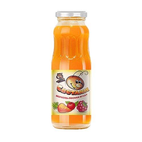 Нектар Светлик Морковь-Лесная ягода, 0.25 лСоки, нектары, морсы<br>