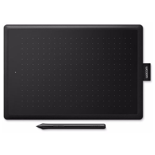 Графический планшет WACOM One Small (CTL-472-N) черный/красный