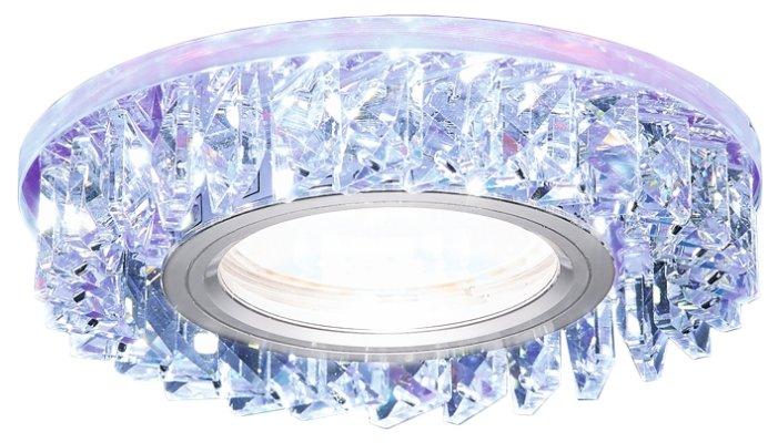 Встраиваемый светильник Ambrella light S255 PR, хром/перламутровый