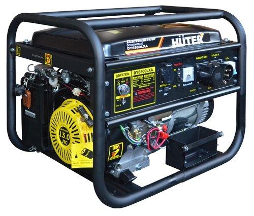 Бензиновый генератор Huter DY6500LXA 5 кВт