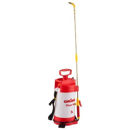 Опрыскиватель GRINDA Clever Spray 5 л белый/красный опрыскиватель solo 461 5 л белый красный черный