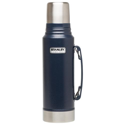 Классический термос STANLEY Classic Vacuum Insulated Bottle (1 л) синий классический термос aladdin heritage vacuum bottle 0 7 л красный