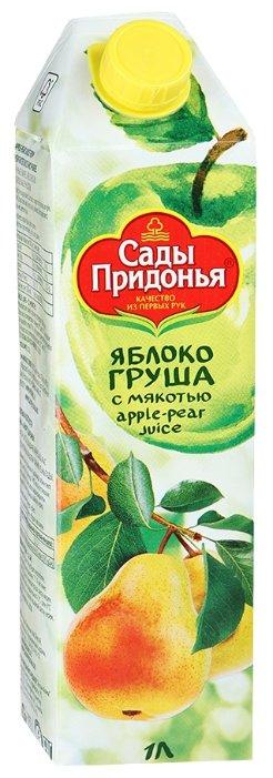 Сок Сады Придонья Яблоко-Груша, с крышкой