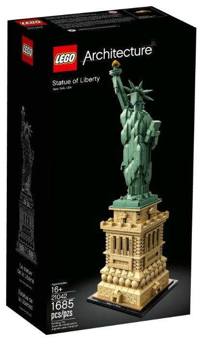 Конструктор LEGO Architecture 21042 Статуя Свободы