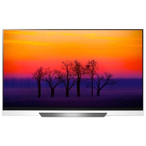 Фото - Телевизор OLED LG OLED55E8 56.4 (2018) серебристый oled телевизор lg oled65b9