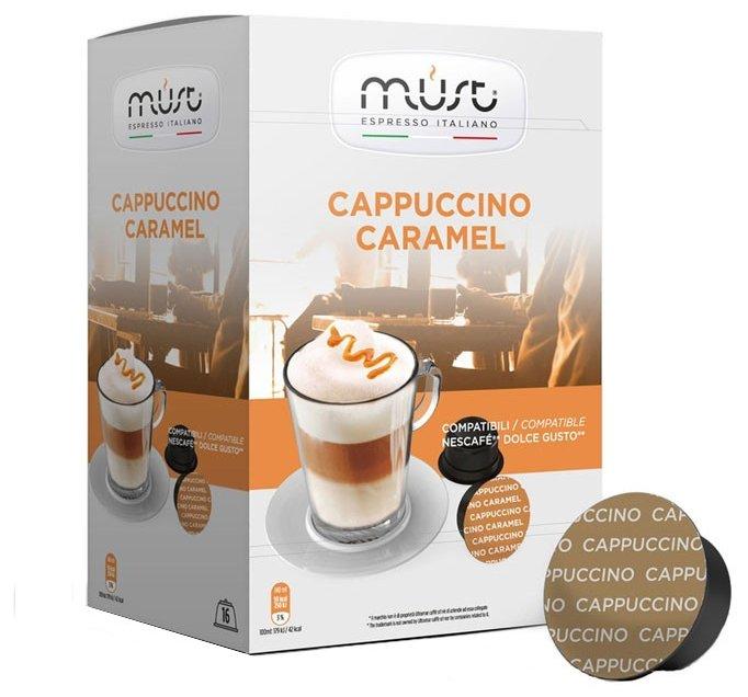 Кофе в капсулах MUST Cappuccino Caramel (16 шт.)