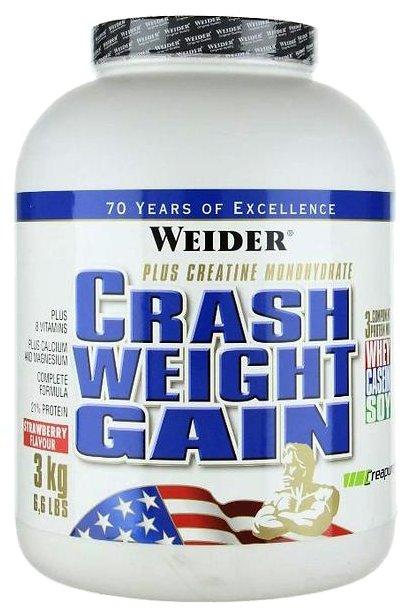 Гейнер Weider Crash Weight Gain (3 кг)