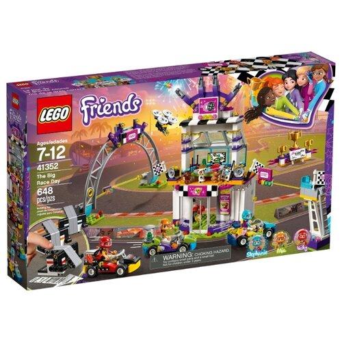 Купить Конструктор LEGO Friends 41352 Большая гонка, Конструкторы