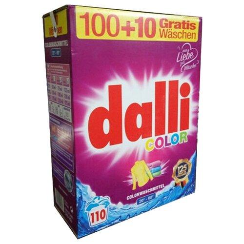 Стиральный порошок Dalli Color 7.15 кг картонная пачкаСтиральный порошок<br>