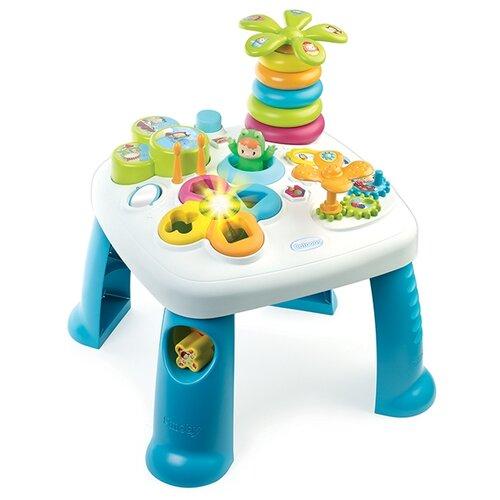 Интерактивная развивающая игрушка Smoby Развивающий игровой стол 211169 голубойРазвивающие игрушки<br>