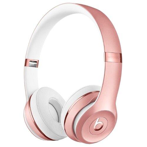 Беспроводные наушники Beats Solo3 Wireless розовое золото цена 2017
