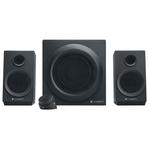 Компьютерная акустика Logitech Z333 черный колонка logitech z333 980 001202