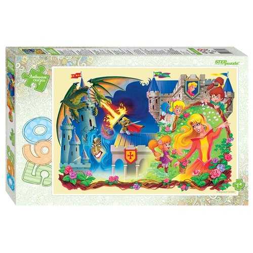 Пазл Step puzzle Спящая красавица (78101), 560 дет.Пазлы<br>