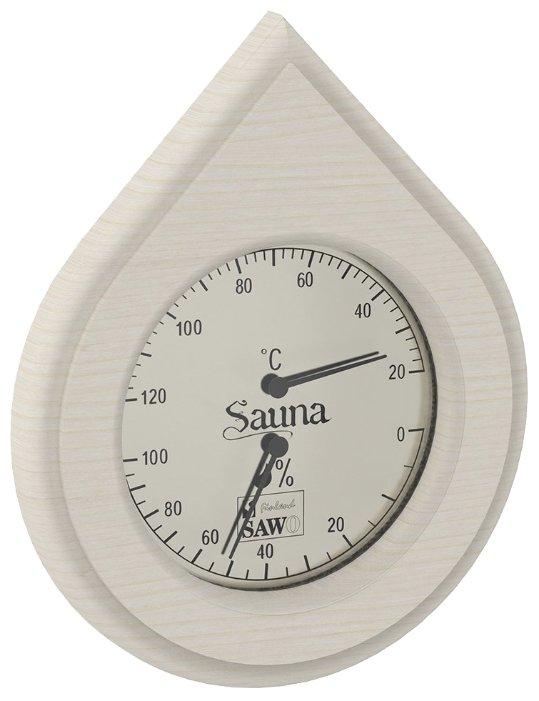 Термогигрометр SAWO 251-THA (Осина (A), 255x140 мм)