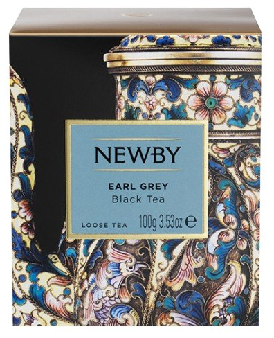 Newby Эрл Грей черный ароматизированный чай 100 г