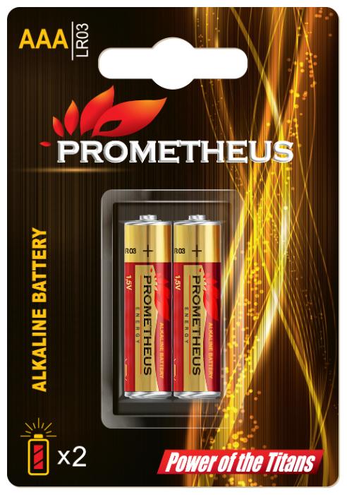 Батарейка Prometheus Energy AAA/LR03