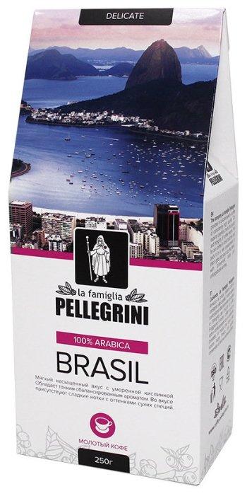 Кофе молотый la famiglia Pellegrini BRASIL